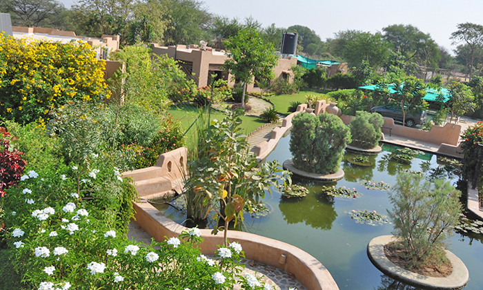 Vatrika LotusPond Naturopathy Centre & Retreat at Kheda, Gujarat